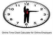 Online Time Clock Calculator for Online Employers