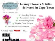 Florist in Cape Town