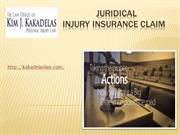 Juridical  Injury Insurance Claim