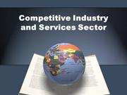 Competitive Industry and Services Sector rep