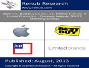 Apple Inc., Best Buy Co. Inc., J.C. Penney Corp Inc. and Limited Brand