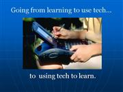 Action Research: Using tech to learn