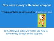Discount Coupons Codes