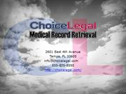 Electronic Medical Records System