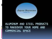 Jayee Screens – Shower Screens, Security Doors, Wardrobes