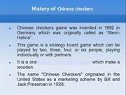 Do You Know the Tricks to Win Chinese checkers