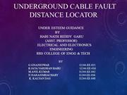 cable fault dtection