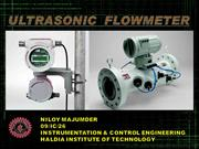 A PRESENTATION ON ULTRASONIC FLOWMETER