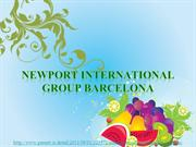 Newport International Group Barcelona: Fejlernæring