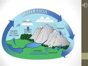 The water cycle audio slideshow