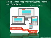 Free 13 Responsive Magento Theme Design For Your eCommerce Store