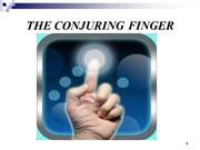 The Conjuring Finger