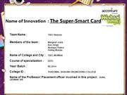 The Super-Smart Card