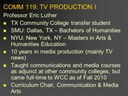 PP#1-Introduction (COMM 119)