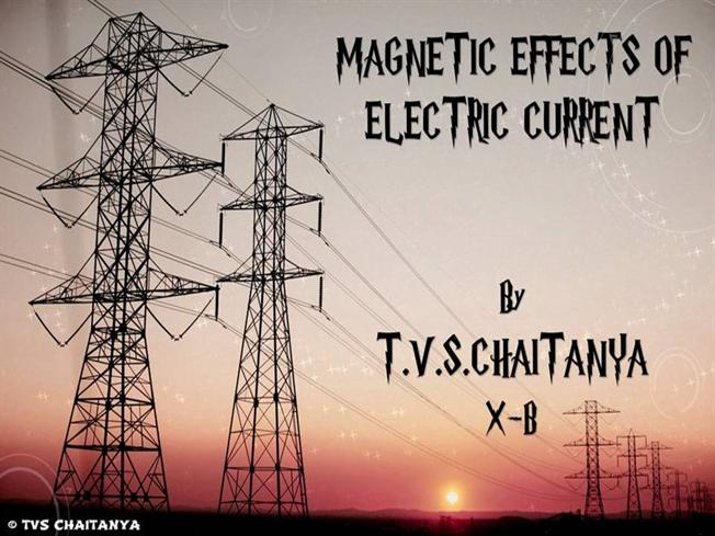 Magnetic effects of electric current for 10th class authorstream toneelgroepblik Gallery