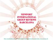 Newport International Group Reviews Barcelona