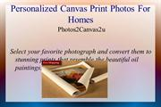 Personalized Canvas Print Photos for Homes