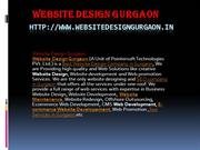 dynamic website design company gurgaon