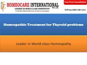 Homeopathic Treatment for Thyroid problems | Thyroid Treatment
