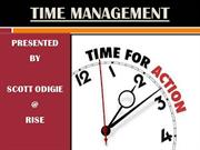 TIME MANAGEMENT @ RISE