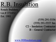 RB Insulation - Bakersfield, Ca - Insulation Contractor