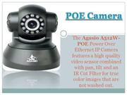 POE Cameras (Power Over Ethernet)