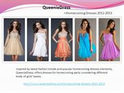 QueenieDress Offers A Variety Of Homecoming Dresses