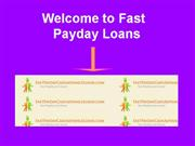 Payday Loan Cash Advance loans