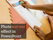 Photo cutout effect in PowerPoint