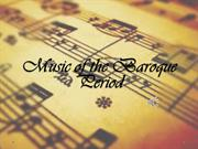 Music of the Baroque Period [Autosaved]