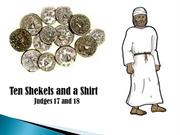 Ten Shekels and a Shirt by Shyne and Mitch