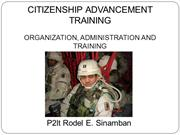 Citizenship Advancement training