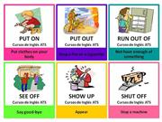 Flashcards Phrasal Verbs - Part 2