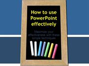 How_to_use_PowerPoint_effectively