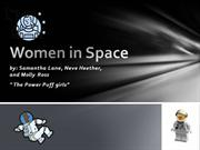 Women in Space Sam History Project