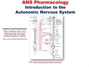 Introduction to the Autonomic Nervous System -EXTENDED