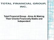 Raymond Blunk | Total Financial Group
