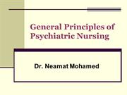 principles of psychiatric nursing