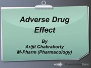 Adverse Drug Effect by Arijit Chakraborty