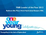 F&B Leader of the Year