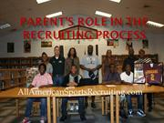Parents Role In The Recruiting Process 9-11-13