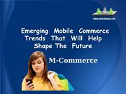 Mobile Commerce - PLAVEBAPPS