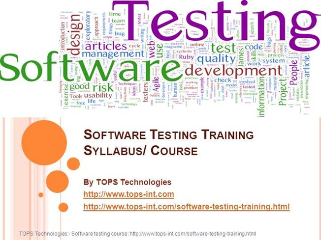 13 09 2013 software testing training syllabus course authorstream rh authorstream com manual testing course syllabus pdf manual testing course syllabus pdf