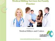 Medical Billing Services for Family Practice