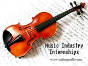 Music Industry Internships