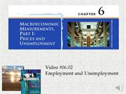 #06.02 -- Employment and Unemployment (narrated)