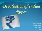 Devaluation Of Indian Rupee