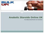 Anabolic Steroids Online UK