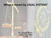 LEGAL SYSTEM OF WORLD AND PAKISTAN .ppt
