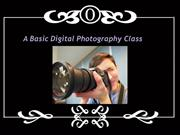 A Basic Digital Photography Class